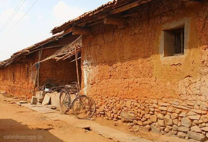 traditional mud house