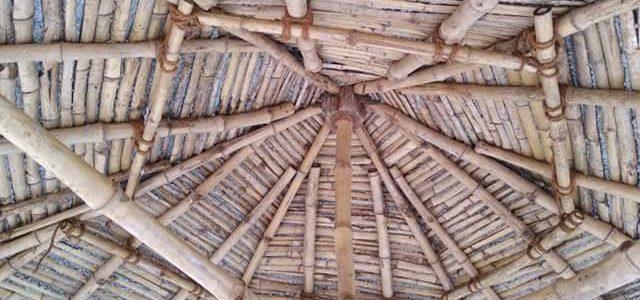 bamboo reinforced roofing மூங்கில் காங்கிரீட்